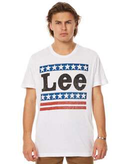 WHITE MENS CLOTHING LEE TEES - L-601256-060