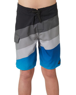 BLUE KIDS BOYS RIP CURL BOARDSHORTS - KBOQH10070