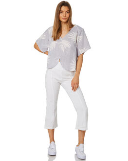 WHITE WOMENS CLOTHING ZULU AND ZEPHYR PANTS - ZZ2404WHT