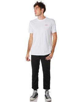 WHITE MENS CLOTHING HUFFER TEES - MTE93S40107WHT