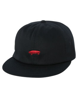 BLACK CHILI PEPPER MENS ACCESSORIES VANS HEADWEAR - VN-0YXKA2TBLK