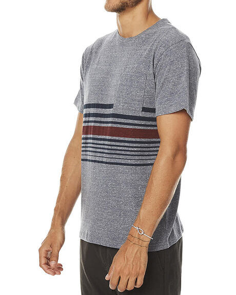 HEATHER GREY MENS CLOTHING KATIN TEES - KNREEF16HTRGY