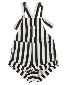 BLACK KIDS TODDLER GIRLS BILLABONG PLAYSUITS + OVERALLS - 5581504BLK