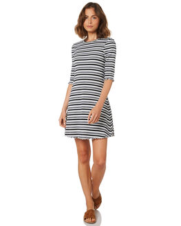 WHT NAVY GRN WOMENS CLOTHING ALL ABOUT EVE DRESSES - 6426098STR
