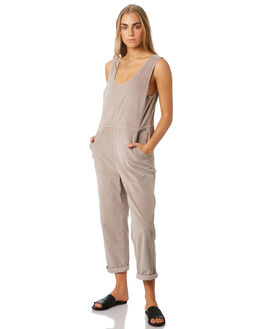 TAUPE WOMENS CLOTHING BILLABONG PLAYSUITS + OVERALLS - 6596504T12