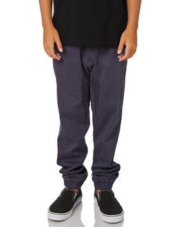 BLUE KIDS BOYS RUSTY PANTS - PAB0188BNI