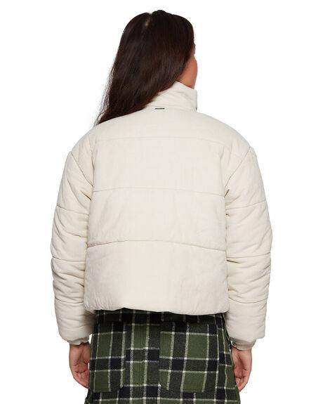 OATMEAL WOMENS CLOTHING RVCA JACKETS - RV-R407431-O10