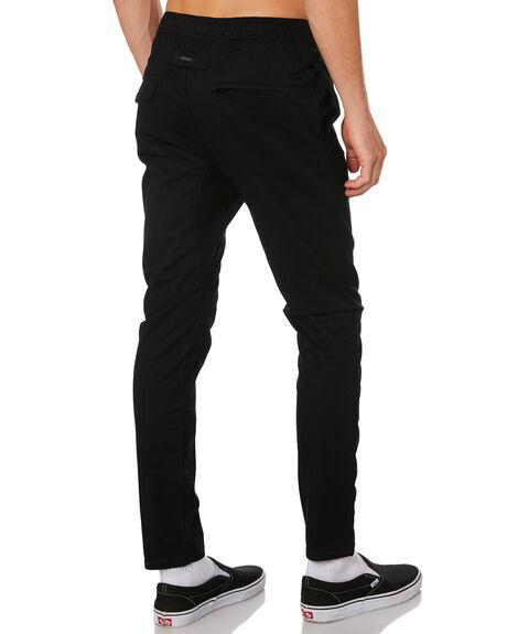 BLACK MENS CLOTHING ZANEROBE PANTS - 737-MTGBLK