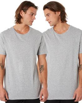 GREY MARLE MENS CLOTHING GLOBE TEES - GB01930033GML