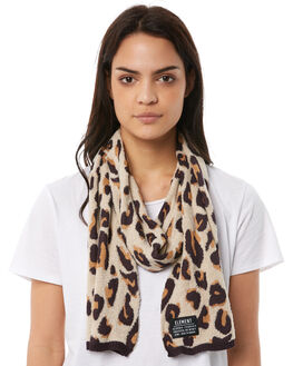 LEOPARD WOMENS ACCESSORIES ELEMENT SCARVES + GLOVES - 286662LEO