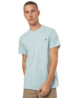 DUSTY BLUE MENS CLOTHING BILLABONG TEES - 9562046BC3