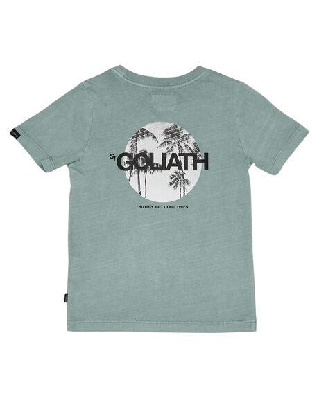 GREEN KIDS BOYS ST GOLIATH TOPS - 2841008GRN