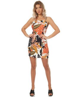 MULTI WOMENS CLOTHING MINKPINK DRESSES - MP1706455MULTI