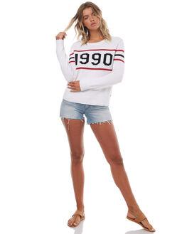 MARSHMELLOW WOMENS CLOTHING ROXY JUMPERS - ERJSW03219WBT0