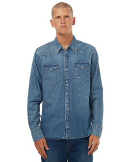 RED CAST MENS CLOTHING LEVI'S SHIRTS - 658156-0232