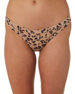 MOCHA WOMENS SWIMWEAR RHYTHM BIKINI BOTTOMS - OCT18W-SW37MOC