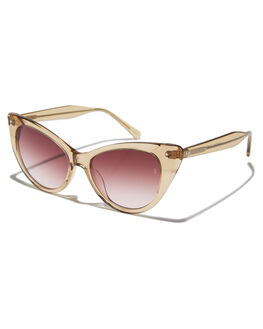 CHAMPAGNE WOMENS ACCESSORIES SUNDAY SOMEWHERE SUNGLASSES - SUN171-CHA-SUNCHAMP