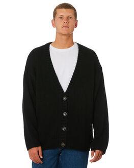 BLACK MENS CLOTHING BILLABONG KNITS + CARDIGANS - 6595800MBLK