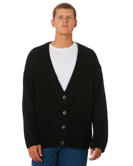BLACK MENS CLOTHING BILLABONG KNITS + CARDIGANS - 6595800MBLK