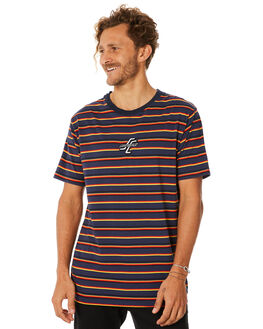 NAVY MENS CLOTHING SANTA CRUZ TEES - SC-MTC8929NAVY