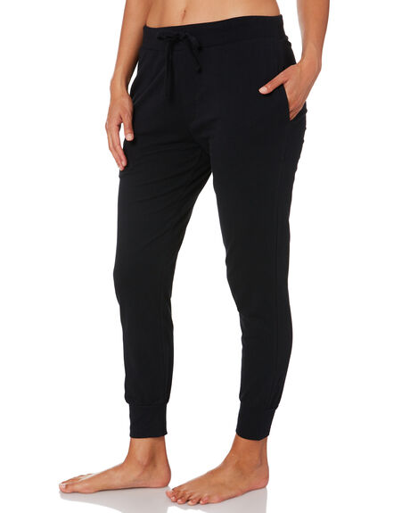BLACK WOMENS CLOTHING SILENT THEORY PANTS - 6041011BLK
