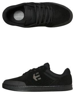 BLACK BLACK MENS FOOTWEAR ETNIES SKATE SHOES - 4101000403004