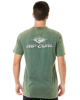 FOREST GREEN MENS CLOTHING RIP CURL TEES - CTEMS20056
