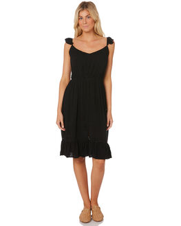 BLACK WOMENS CLOTHING SASS DRESSES - 12953DWSSBLACK