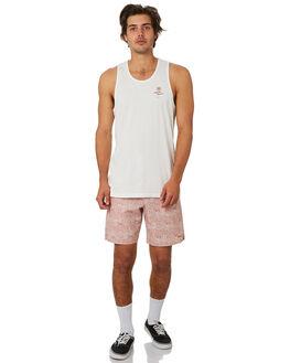 WHITE MENS CLOTHING RHYTHM SINGLETS - JUL19M-PT12-WHT
