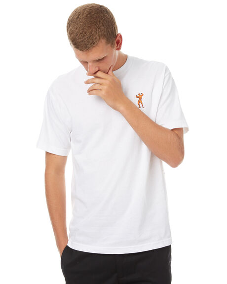 WHITE MENS CLOTHING PASS PORT TEES - MORPHEDWHT