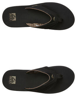 BLACK BROWN MENS FOOTWEAR REEF THONGS - 2026BKB