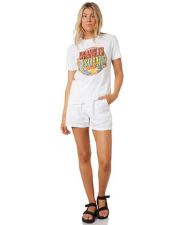 WHITE OUT OUTLET WOMENS RIDERS BY LEE SHORTS - R551703LL9
