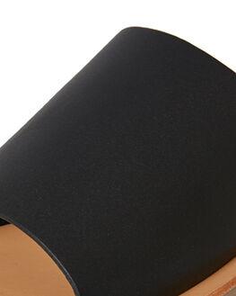 BLACK BLONDE WOMENS FOOTWEAR SOL SANA FASHION SANDALS - SS182S401BBLND
