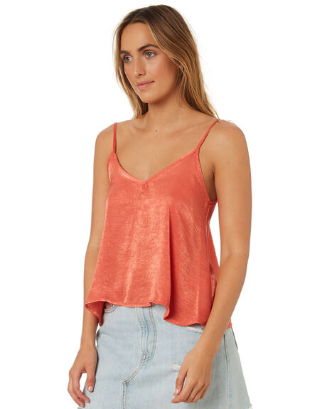 RUST OUTLET WOMENS ALL ABOUT EVE FASHION TOPS - 6423058BRNZ