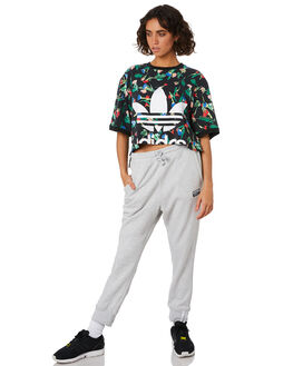 LIGHT GREY HEATHER WOMENS CLOTHING ADIDAS PANTS - ED5852GRY