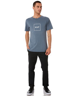 BLUE MIRAGE MENS CLOTHING HUF TEES - TS00507-BLMIR