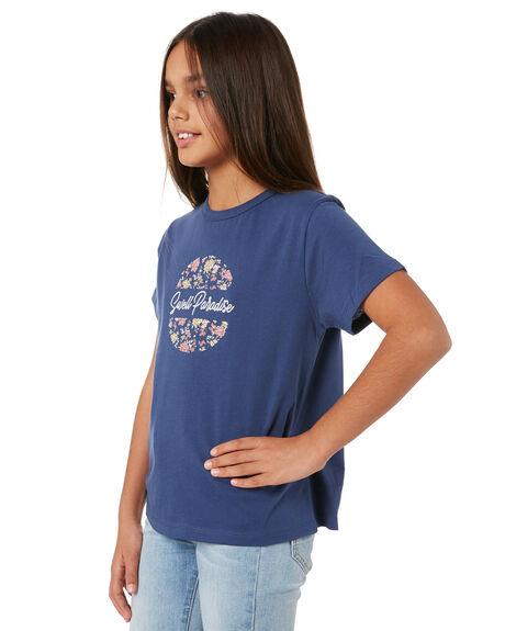 NAVY KIDS GIRLS SWELL TOPS - S6204001NAVY
