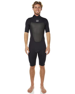 BLACK SURF WETSUITS BILLABONG SPRINGSUITS - 9761400BLK