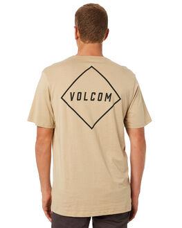 GRAVELLE MENS CLOTHING VOLCOM TEES - A504186GGRV