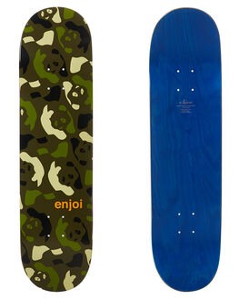 GREEN CAMO BOARDSPORTS SKATE ENJOI DECKS - 10017744GCAMO