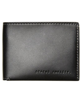 BLACK MENS ACCESSORIES STATUS ANXIETY WALLETS - SA2281BLK