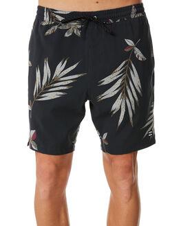 BLACK FLORAL MENS CLOTHING BILLABONG BOARDSHORTS - 9581432BLKFL