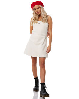 OFF WHITE WOMENS CLOTHING STUSSY DRESSES - ST181505OFFWH