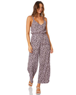MUSSEE FLORAL ORCHID WOMENS CLOTHING RUE STIIC PLAYSUITS + OVERALLS - SW-20-10-4-MFO-VFMFO