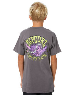 DARK GREY KIDS BOYS RIP CURL TOPS - KTEVO21221