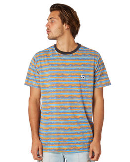 ORANGE MENS CLOTHING BILLABONG TEES - 9571035ORG
