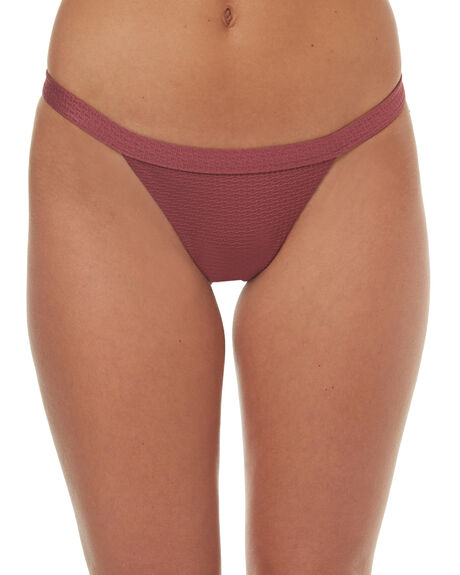 ROSE WOMENS SWIMWEAR SWELL BIKINI BOTTOMS - S8171338RSE