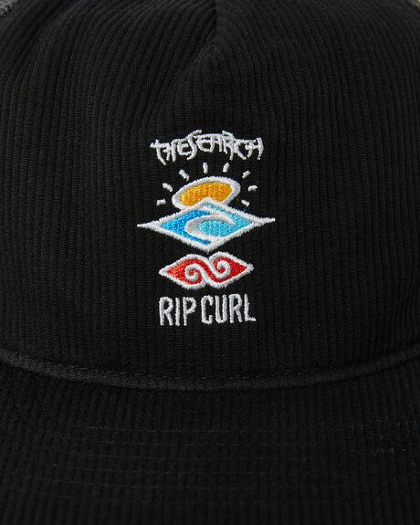 BLACK MENS ACCESSORIES RIP CURL HEADWEAR - CCACE90090