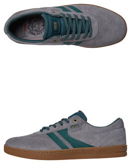 GREY MARINE MENS FOOTWEAR GLOBE SKATE SHOES - GBEMPIRE-15241