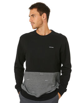 BLACK MENS CLOTHING VOLCOM JUMPERS - A4612017BLK